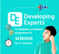 Developing Experts Science