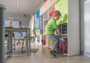 Educational environments - All-in-One cabinet