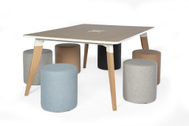 Educational environments - Project & Meeting table