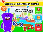 Kidlo Addition & Subtraction Games for Kids