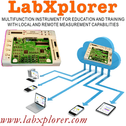 LabXplorer, TINALab II - Multifunction Instrument for Education and Training with Local and Remote Measurement capabilities