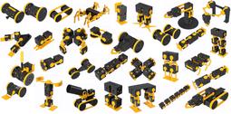 Meet hundreds robot in motion - PINGPONG