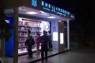 Outdoor Smart Mini Library