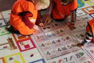 Preschool Immersive Story Mats for Maths