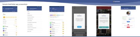 SafeToNet safeguarding app screenshots