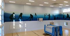 Sports Hall Wraps